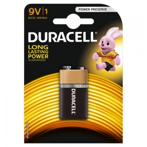 Bateria 6F22 Duracell Oryginal