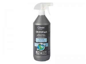 Spray CLINEX DezoFast 1l do dyzenfekcji