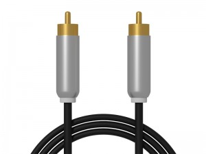 Kabel 1 cinch - 1 cinch 3m metal