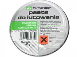 Pasta lutownicza 40g AG